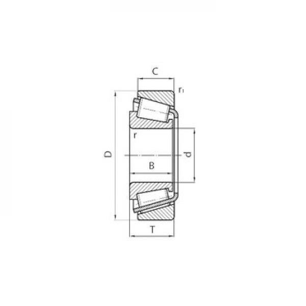 E-LM742749D/LM742714/LM742714D Avsmalnande rullager #3 image